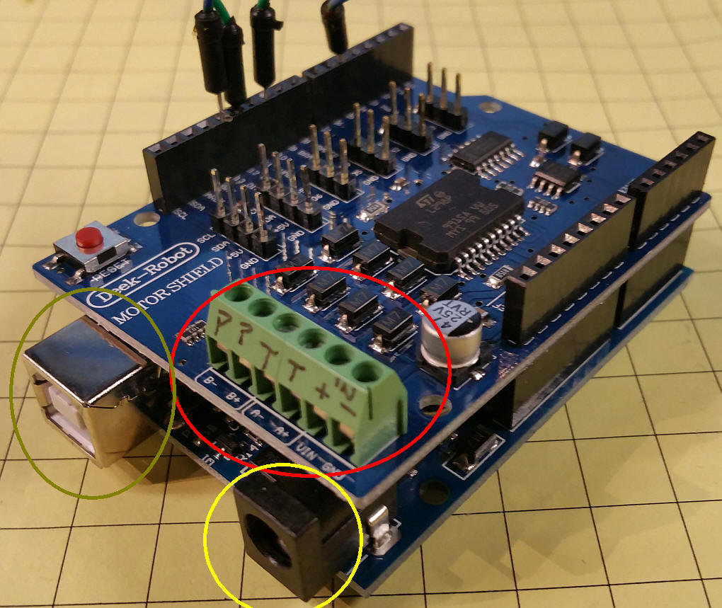 Initial JMRI and DCC++ Controlle