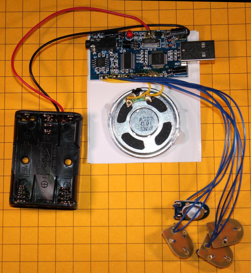 A Four Sound USB Sound Card \u0026 the PCC Trolley [ 1111 x 1020 Pixel ]